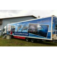 Luxury 7D Trailer / Truck Cinema Systems With 12 seats Motion Chairs , Pneumatic System Manufactures