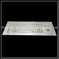China Metal Integrated Trackball Keyboard , 89 Key Keyboard With F1-f12 Function Button on sale