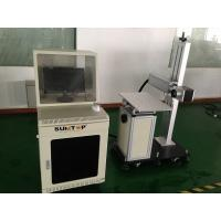 20 W Fiber Industrial Laser Marker For Production Marking , Separated Model Manufactures