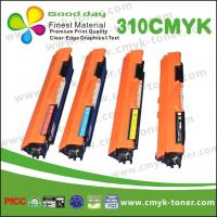 ISO CE HP Color Toner Cartridges C / K / M / Y For CP1025 CP1025NW Manufactures