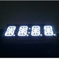 High Brightness 14 Segment Alphanumeric Display White 4 Digit 0.54 Inch For STB Manufactures