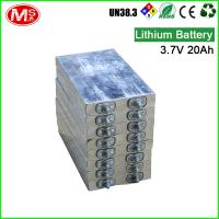 3.2V 20Ah Prismatic Lithium Ion Golf Cart Batteries 2000 Times Cycle Life Manufactures