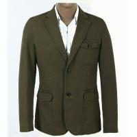 Custom Plus Size, Big and Tall, Classic and Designer Knitting Khaki Mens Cotton Suit Manufactures