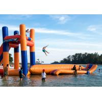 Buy cheap Giant Lake Inflatable Water Sports With 0.9mm PVC Funny Jumping Pillow Tower from wholesalers