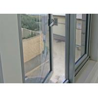 Villa Double Glazed Aluminium Windows Powder Coated With Stainless Steel Mesh Manufactures
