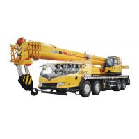 Truck Crane QY50KA Construction Machinery With Four axis Chassis U Section Jib Manufactures