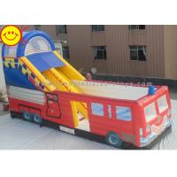 Customized Commercial Inflatable Slide Large Inflatable Outdoor Jumping Bouncer with Slide Manufactures
