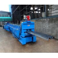 China Galvanized W Beam Highway Guardrail Beam Roll Forming Machine Hydraulic Decoiler on sale
