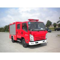 Quality Large Size Water Tanker Fire Truck 4x2 Drive With 100W Alarm Control System for sale