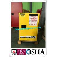 Flammable Safety Storage Cabinet For Oil Station, Paint Storage Cabinet For Laboratory Manufactures