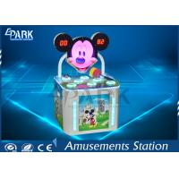 Kids Hammer Game Machine / Whack A Mole Hit Mouse HD LCD Display Stereo System Manufactures
