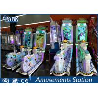 Indoor Children'S Coin Operated Rides / Arcade Games Machine Double Players Bike Manufactures
