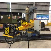 Light Pole Production Line Motorized Control Up Down Rotation / Forward / Reverse Column Boom Manufactures