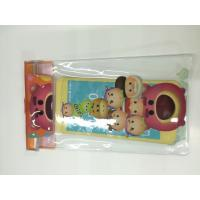 Quality Clear PVC Waterproof Phone Bag Plastic Printing Services With Offset CMYK for sale