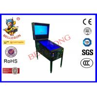 Quality 3 LED Screen Arcade Pinball Machine Household Double System for sale