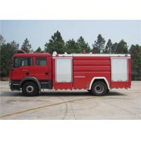 ISUZU Chassis Water Tanker Fire Truck Max Load 16000kg With Turbocharged Engine Manufactures