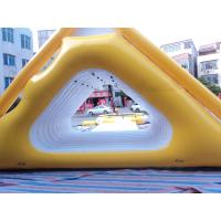 Sports Inflatable Sports Games , 0.9 Mm PVC Tarpaulin Water Floated Toy Unit Manufactures