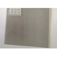 Bullet Proof Pvc Coating Stainless Steel Mesh Sheet , 316 Black 2MM Mesh Sheet Manufactures