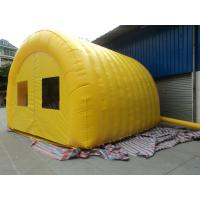 Large Yellow 420D Oxford Cloth Inflatable Party Tent For Backyard Manufactures