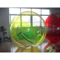 Inflatable Colored Inflatable Water Walking Ball , Inflatable Water Toys With For Kids Manufactures