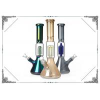 Four Arms Tree Percolator Bongs 12 inches Smoking Glass Beaker Water Pipes Bong Manufactures