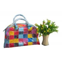 Recyclable Fashion PVC Reusable Fabric Carrier Bags For Suppermarket Shopping Manufactures