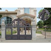 Villa Aluminum Electric Garden Door Opening Type With Remote Control Motor Shaft 4.5m Manufactures