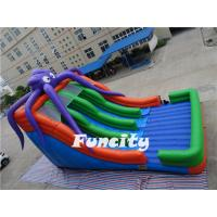 Octopus Inflatable Slide For Kids Slipping In The Long Slide Manufactures