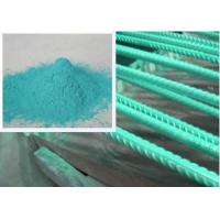 Buy cheap Metallic Green Rebar Epoxy Coating Penetration Resistance Less Funnelled from wholesalers