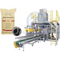 Rubber Antioxidant Granule Packing Machine , 5kg To 25kg Open Mouth Bagging Machine Manufactures