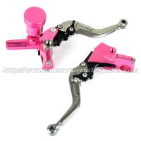 Front Left Right Motorcycle Brake Clutch Lever Brake Pump Racing Bike Spare Parts Manufactures