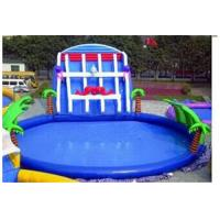 Outdoor Inflatable Family Swimming Pool For Kids , PVC Tarpaulin Manufactures