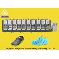 Rain Boots Plastic Chappal Making Machine , Vertical Shoe Sole Mould Making Machine Manufactures