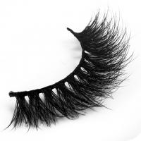 Volume Black 3D Mink Lashes 3d Individual Lashes Lightweight 6-18 Mm Length Manufactures