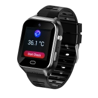 Elderly People smart watch With SIM Android OS 4G GPS tracking SOS GEO heart rates monitor, temperature monitor Manufactures