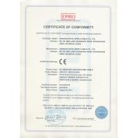 Shanghai Echu Wire & Cable Co.,Ltd Certifications