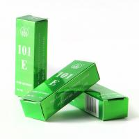 Beautiful Green Silver Art Paper Custom Box Printing Service for packing soap, candy, wine Manufactures