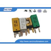 15A 28V / 14V Dc Auto Reset Circuit Breaker Single Pole Circuit Breakers Manufactures