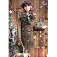 Plus Size Winter Fashion Leather Coats For Women Manufactures