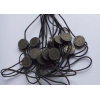 Custom Metal Seal Cloth Security Tag Double / Single End String ISO Approval Manufactures