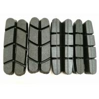 Bicycle Bike Parts Black Rubber Brake Pads For V Brake Carbon Road Bike Wheels Manufactures