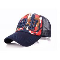 Adjustable Black Mesh Baseball Caps 3D Embroidery 6 Panel 100% Cotton Mesh Net Manufactures