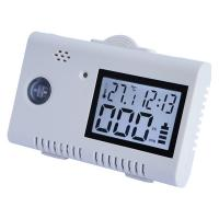 USB Power Portable Carbon Monoxide Detector Alarm with LCD Display Time, Temp Manufactures