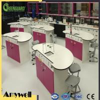 China ISO 9001 matte surface wearproof formica laminate Lab Worktop on sale