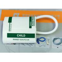 Plastic NIBP Cuff , TPU Disposable Blood Pressure Cuffs In White Color Manufactures