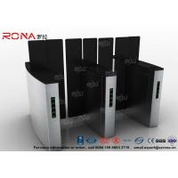Access Control Turnstile Security Gates Tempered Glass Sliding Material Manufactures