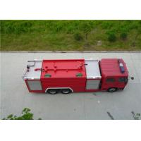 6x2 Drive Water Tanker Fire Truck Full Load Quality 26000kg Engine Power 270HP Manufactures