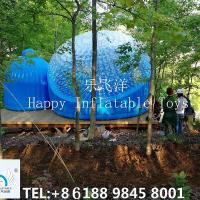 Inflatable Bubble Tent , 4m Diameter  PVC  Outdoor  Traveling Tent Waterproof Manufactures