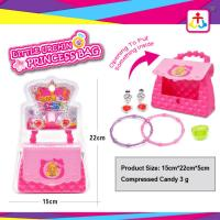 Princess bag with press candy 3g for girls Manufactures