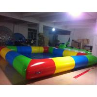 Giant Colorful Inflatable Kids Pool Lead Free For Swimming Fitness Play Manufactures